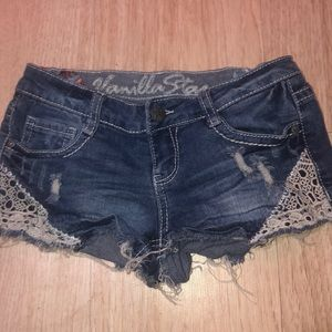 Vanilla star short shorts